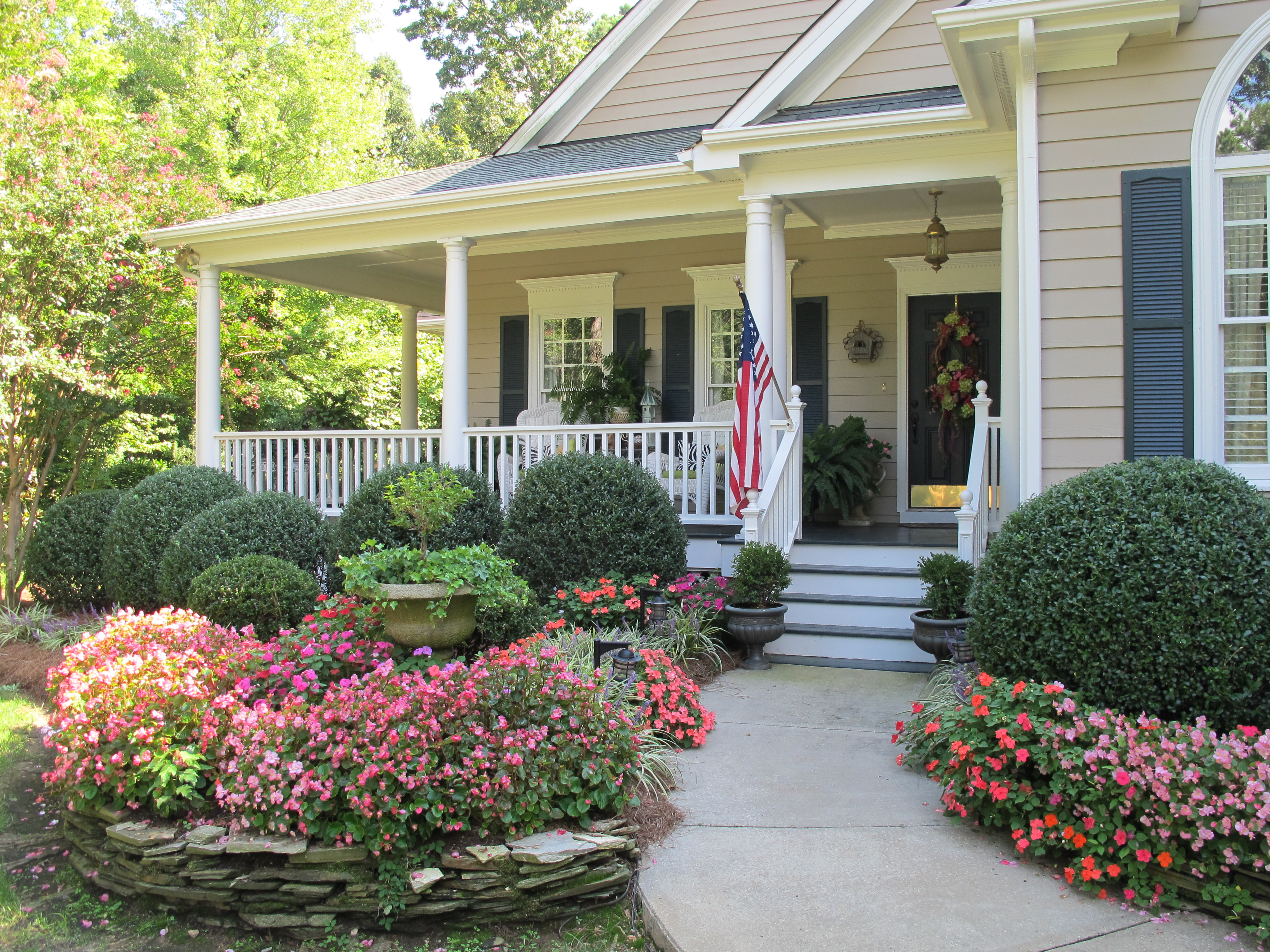 Ranch House Curb Appeal Curb Appeal 6 Tips For Getting Buyers Inside The Door Donna